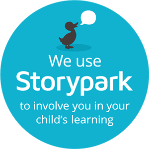 We use Storypark Badge